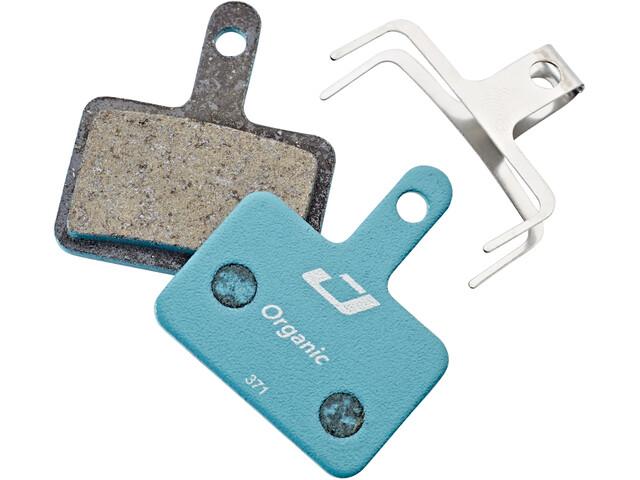 Jagwire Sport Organic Remblokken voor Shimano/Tektro/TRP, blauw/bruin